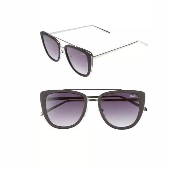 b0e8812b99c66 Quay Australia French Kiss Cat Eye Sunglasses